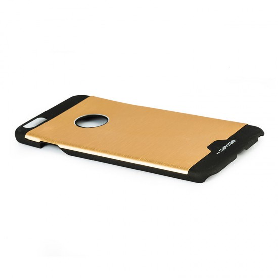 Motomo Round Apple iPhone 6 Plus - 6S Plus Metal Rubber Kılıf