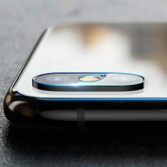 Baseus Apple iPhone XS Max 0.2mm Camera Lens Glass Kamera Koruyucu