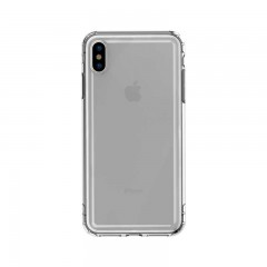 Baseus Apple iPhone XS Max Safety Airbags Case Kılıf - Transparan Siyah