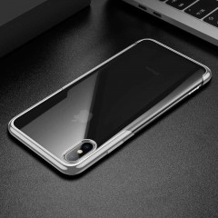 Baseus Apple iPhone XS Max Shining Case Kılıf - Silver
