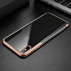 Baseus Apple iPhone XS Max Shining Case Kılıf - Gold