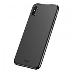 Baseus Apple iPhone XS Max Wing Case Kılıf - Siyah