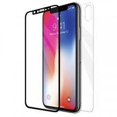 Buff iPhone X 5D Glass Ekran Koruyucu