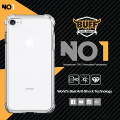 Buff NO1 iPhone 7 - 8 Kılıf Crystal Clear