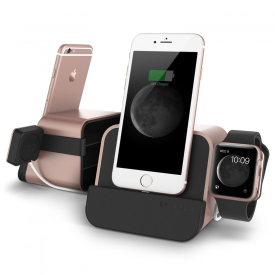 VRS New iDEPOT Plus Masaüstü Stand Dock Rose Gold