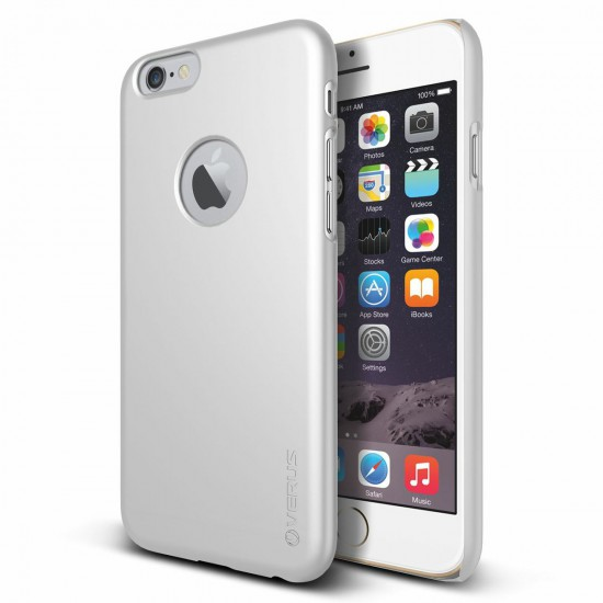 Verus iPhone 6 - 6S 4.7 Case Super Slim Hard Series Kılıf Pearl White