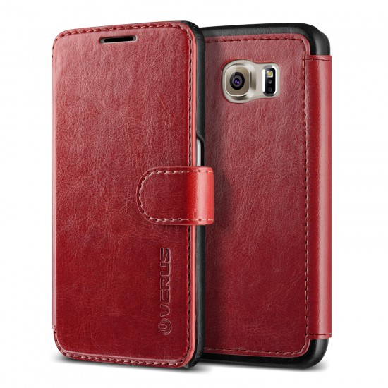 Verus Samsung Galaxy s6 Case Dandy Layered Kılıf Wine Black