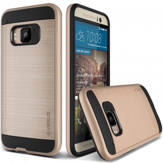 Verus HTC One M9 Case Verge Series Kılıf Gold