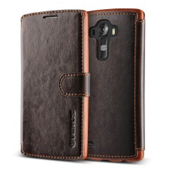 Verus LG G4 Case Dandy Layered Series Kılıf Dark Brown