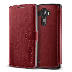 Verus LG G4 Case Dandy Layered Series Kılıf Wine Black
