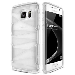 Verus Samsung Galaxy S7 Edge Shine Guard Kılıf Clear