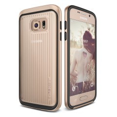 Verus Samsung Galaxy S7 Edge Triple Mixx Kılıf Shine Gold