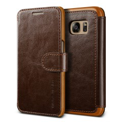 Verus Samsung Galaxy S7 Case Dandy Layered Series Kılıf Dark Brown
