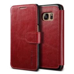 Verus Samsung Galaxy S7 Case Dandy Layered Series Kılıf Wine Black