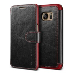Verus Samsung Galaxy S7 Edge Case Dandy Layered Series Kılıf Black Wine