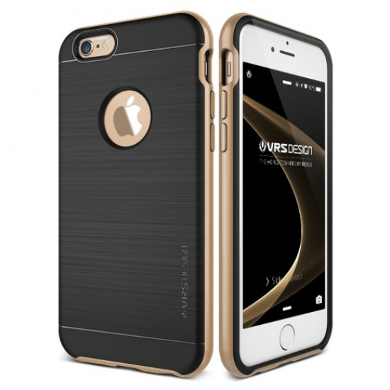 Verus iPhone 6 Plus - 6S Plus New High Pro Shield Series Kılıf Shine Gold