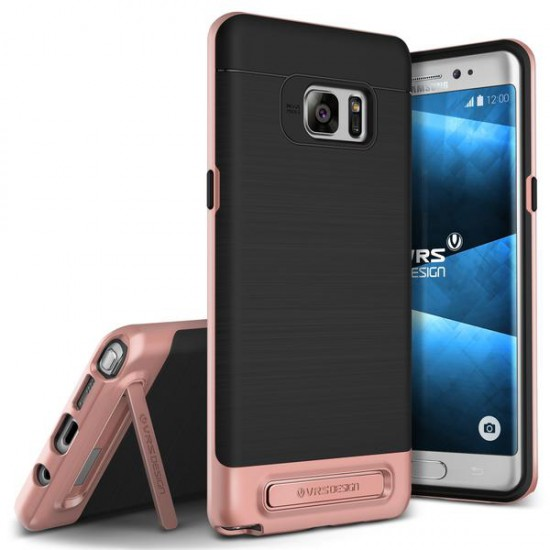 VRSDESIGN Samsung Galaxy Note 7 High Pro Shield Series Kılıf Rose Gold