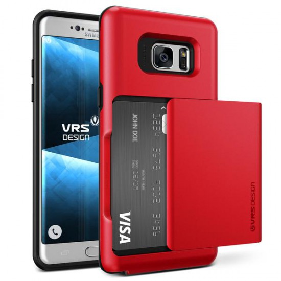 VRSDESIGN Samsung Galaxy Note 7 Damda Glide Series Kılıf Crimson Red