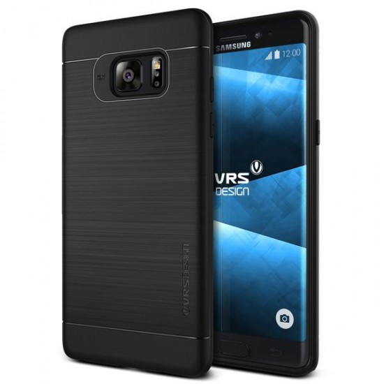 VRSDESIGN Samsung Galaxy Note 7 Simpli Fit Series Kılıf Phantom Black