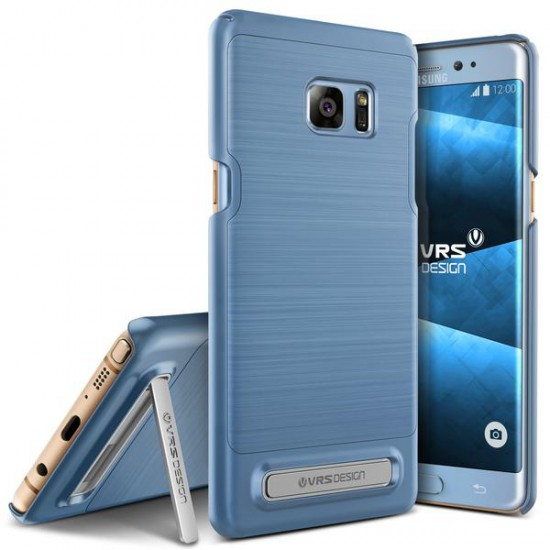 VRSDESIGN Samsung Galaxy Note 7 Simpli Lite Series Kılıf Blue