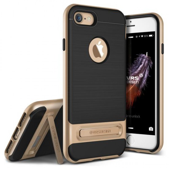 VRS DESIGN iPhone 7 High Pro Shield Series Kılıf Shine Gold