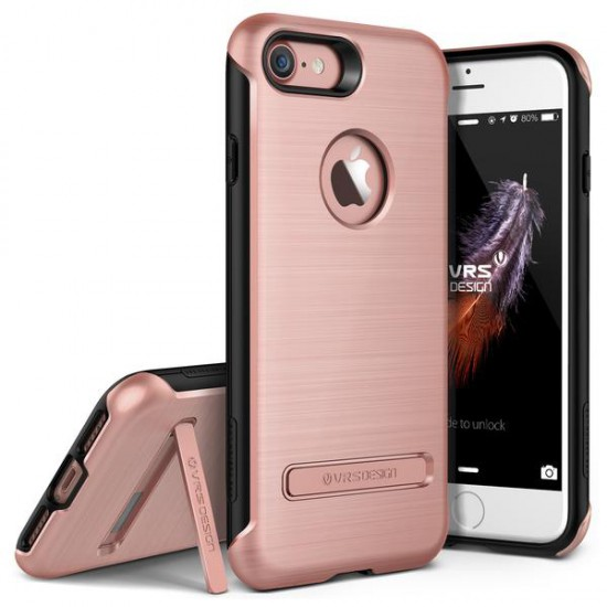 VRS DESIGN iPhone 7 Duo Guard Series Kılıf Rose Gold