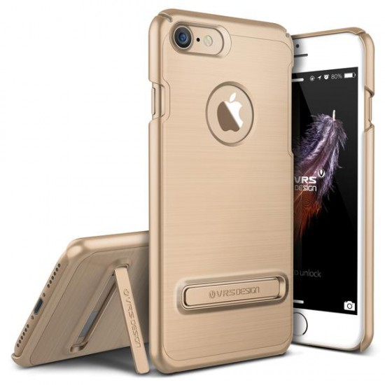 VRS DESIGN iPhone 7 Simpli Lite Series Kılıf Shine Gold