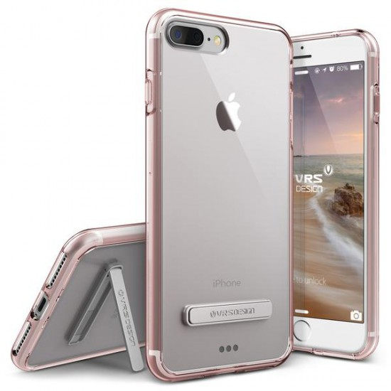 VRS DESIGN iPhone 7 Plus Case Crystal Mixx Series Kılıf Rose Gold