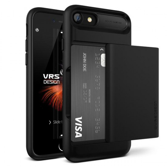 VRS DESIGN iPhone 7 Damda Glide Series Kılıf Black