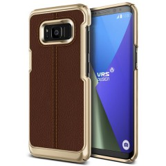 VRS Design Samsung Galaxy S8 Plus Simpli Mod Kılıf Brown