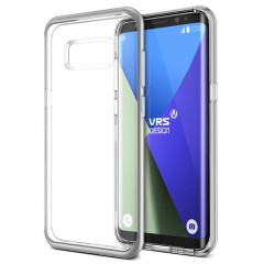 Verus Samsung Galaxy S8 Plus Crystal Bumper Kılıf Light Silver