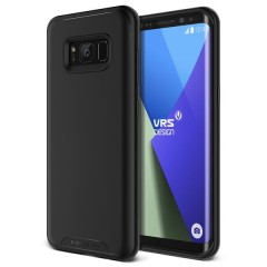 VRS Design Samsung Galaxy S8 Plus Single Fit Kılıf Black