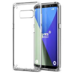VRS Design Samsung Galaxy S8 Plus Crystal Mixx Kılıf Clear