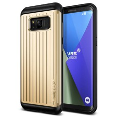 Verus Samsung Galaxy S8 Plus Waved Hard Drop Series Kılıf Waved Shine Gold