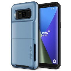 VRS Design Samsung Galaxy S8 Plus Damda Folder Kılıf Blue Coral