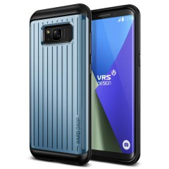 Verus Samsung Galaxy S8 Plus Waved Hard Drop Series Kılıf Waved Blue Coral