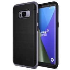 VRS Design Samsung Galaxy S8 Plus High Pro Shield Kılıf Orchid Gray