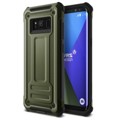 VRS Samsung Galaxy S8 Plus Terra Guard Kılıf Military Green