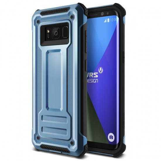VRS Samsung Galaxy S8 Plus Terra Guard Kılıf Blue Coral