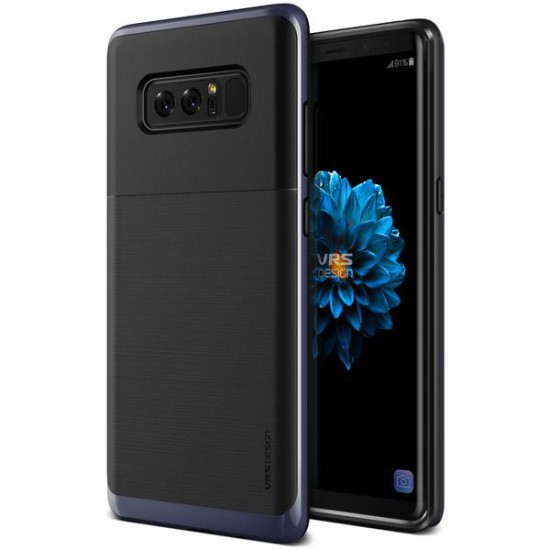 VRS Samsung Galaxy Note 8 High Pro Shield Kılıf Orchid Gray