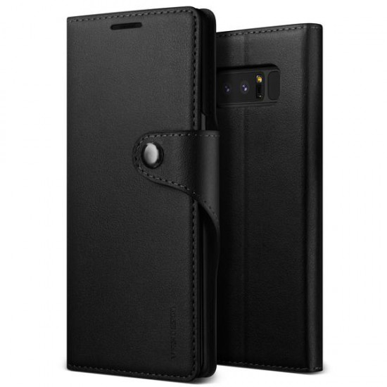 VRS Samsung Galaxy Note 8 Daily Diary Kılıf Black