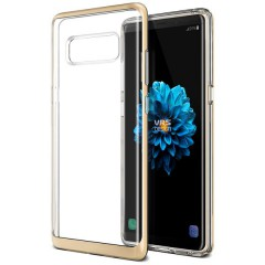 VRS Samsung Galaxy Note 8 Crystal Bumper Kılıf Shine Gold
