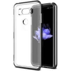 VRS Design LG V30 Crystal Bumper Kılıf Light Silver