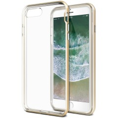 VRS Design iPhone 8 Plus / 7 Plus New Crystal Bumper Kılıf Gold