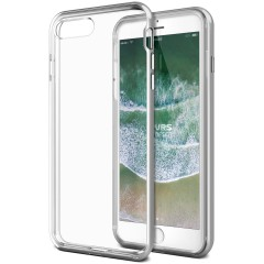 VRS Design iPhone 8 Plus / 7 Plus New Crystal Bumper Kılıf Silver
