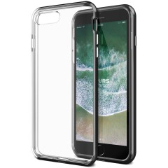 VRS Design iPhone 8 Plus / 7 Plus New Crystal Bumper Kılıf Metallic Black