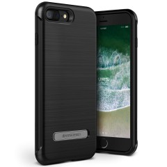 VRS Design iPhone 8 Plus / 7 Plus New Duo Guard Kılıf Metallic Black