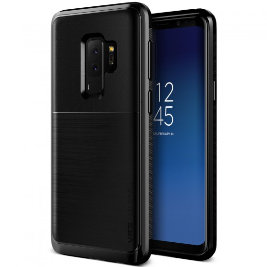 VRS Design Galaxy S9 Plus High Pro Shield Kılıf Metallic Black