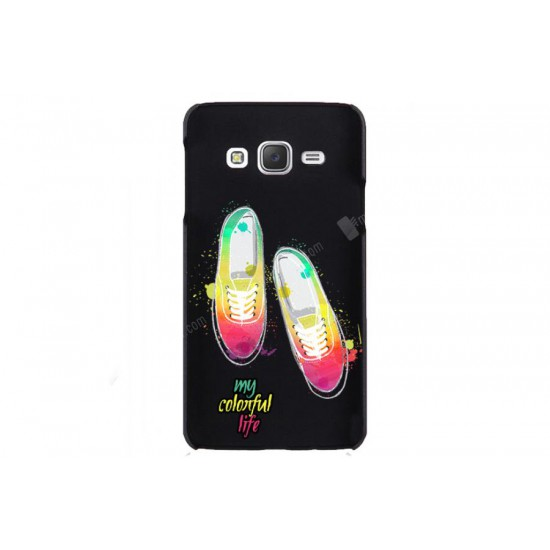 Galaxy J3 Colorful Rubber Kılıf