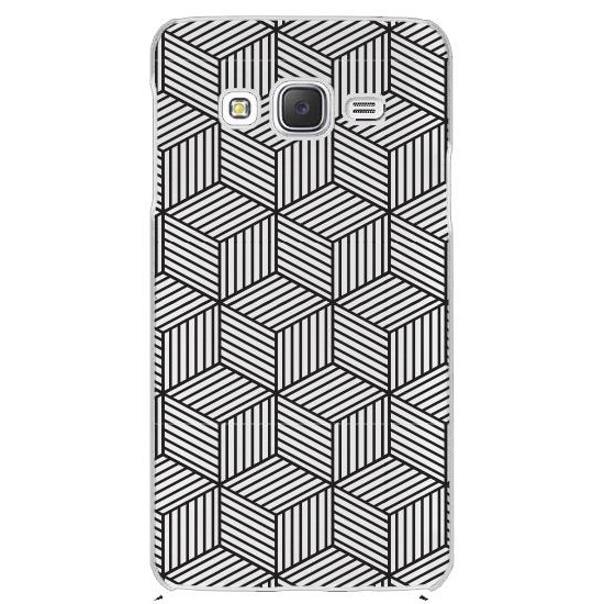 Galaxy J2 Geometrical Rubber Kılıf